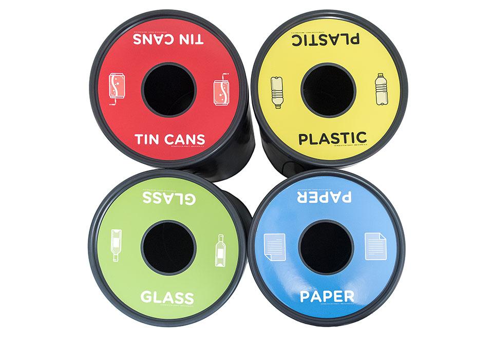 EcoCylinder 100l Recylce Bins