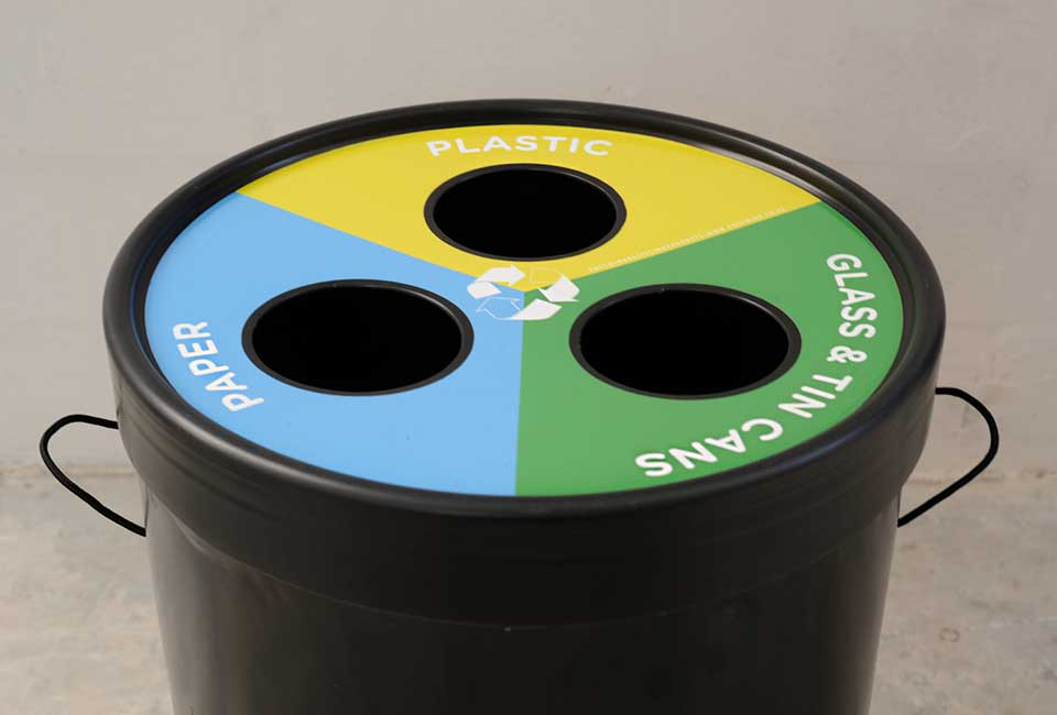 3 Waste Ecocylinder lid